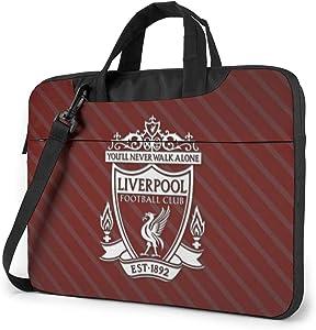 Liver_Pool Football Shoulder Shockproof Laptop Bag Laptop Sleeve Case Ultra-Slim Laptop Computer Pouch Bag 13/14/15.6 Inch