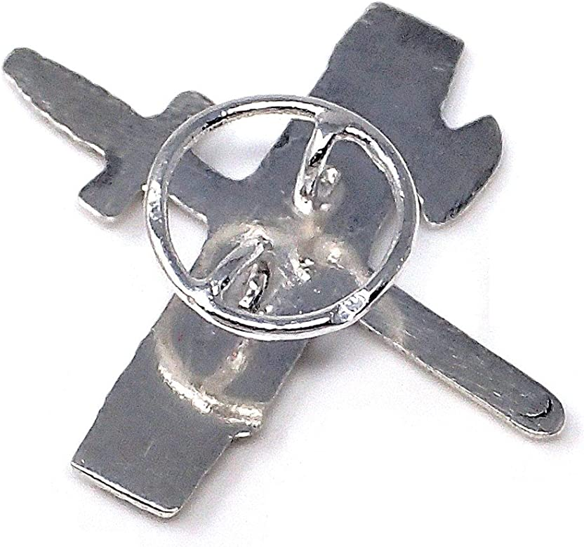 Solapero plata Ley 925m emblema Guardia Civil [AB4905]: Amazon.es ...