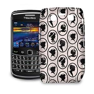 Phone Case For BlackBerry Bold 9700 - Parisian Chic Cameos Designer Lightweight