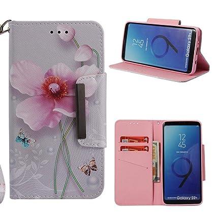 Amazon.com: Firefish Galaxy S9 Plus Case,Flip 3D Printing ...