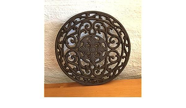 Antikas - reja Redonda Estufa Chimenea - rejas de Aire Antiguas Chimenea - rejas de Aire como ventilación: Amazon.es: Hogar