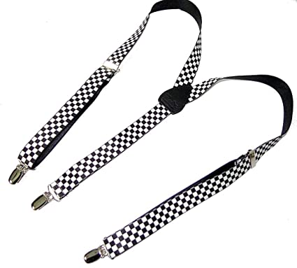 2a852ce0c76 Amazon.com  Hold-Ups Urban Youth Black and White Checkered Flag ...