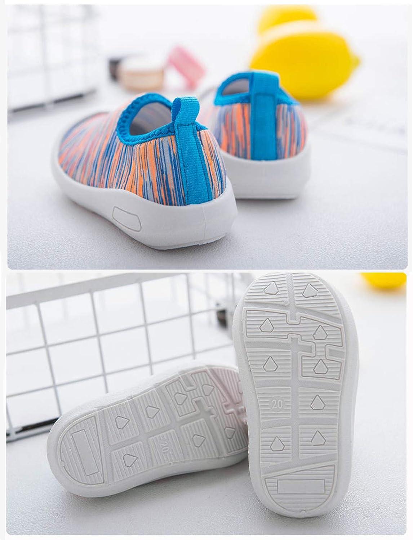 DEBAIJIA Chaussures pour Tout-Petits 0-3T B/éb/é Marche Couleur Unie Semelle Souple Non-Slip Mesh Respirant PVC Mat/ériau l/éger