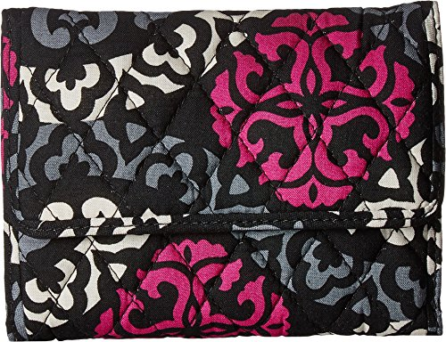 Vera Bradley Women's Euro Wallet Canterberry Magenta One Size