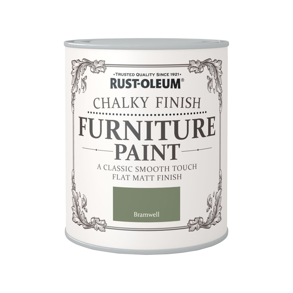 Rust-Oleum 750ml Chalky Finish Furniture Paint - Salmon AMZ0020