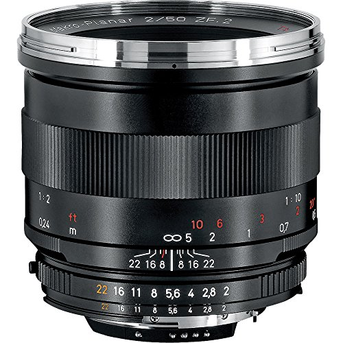 Zeiss 50mm f/2.0 Makro Planar ZF Manual Focus Macro Lens for