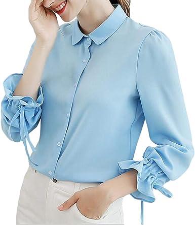 GRMO Women - Camisas - Manga Larga - para Mujer 0 US XX-Small ...