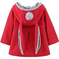 DaDa Deal Little Girl's Baby Toddler Kids Winter Ears Coat Jacket Outerwear Hoodie