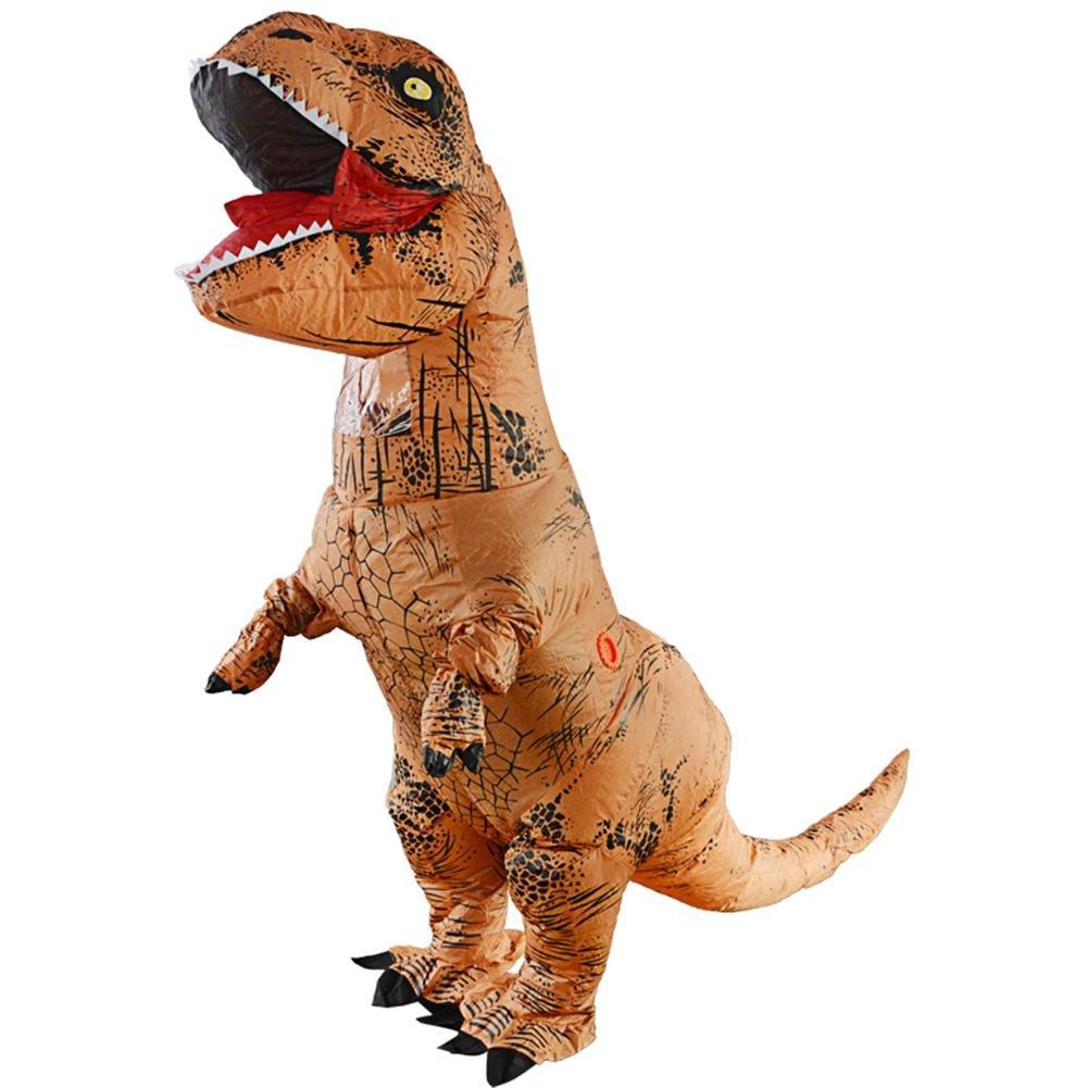 WXGY Body de Disfraz de Dinosaurio T-Rex Inflable Jurassic ...