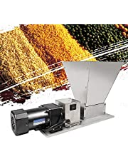 75 tpm, elektrische graanmolen, 40 W, grain crusher, moutmolen, roestvrij staal, wals, grain crusher, maximale grain, 4 kg