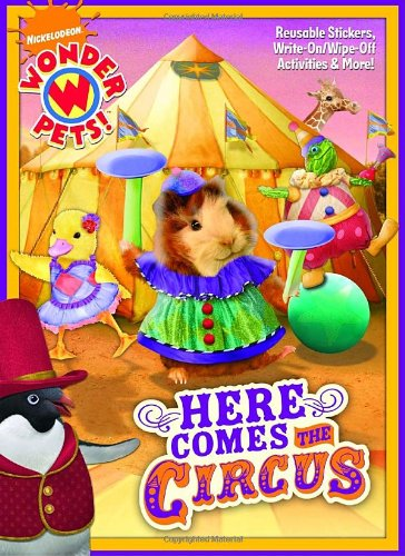 (Here Comes the Circus (Wonder Pets!) (Color Plus Gatefold Sticker) )