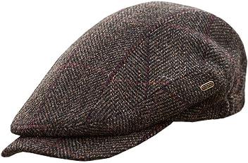 11b88d5e85e13 Mucros Weavers Men's Quiet Man Cap -Irish Tweed Flat Cap - Brown