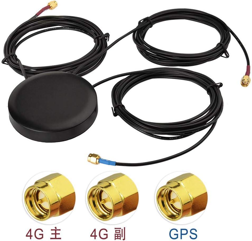 Antena de combinación Superbat GPS + 4G LTE, montaje de rosca ...