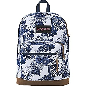 JanSport Right Pack Expressions (White Artist Rose)
