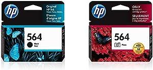 HP 564 | Ink Cartridge | Black | CB316WN & 564 | Ink Cartridge | Photo | CB317WN