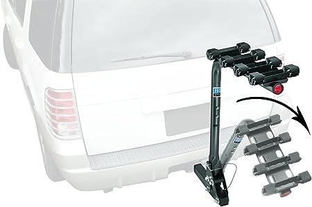 4 Bike Carrier Pro-Series 63124 Eclipse Black 2-Inch Sq