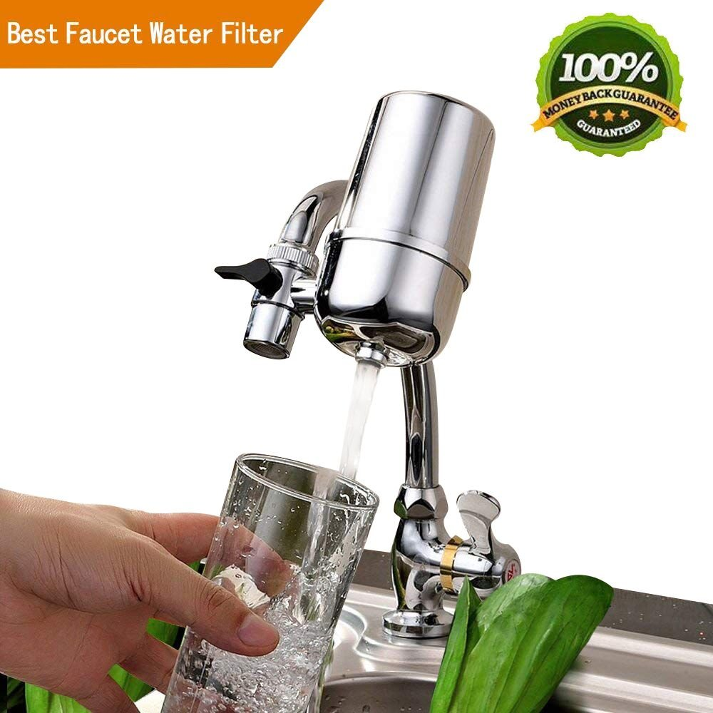 Tophatte Faucet Water Filter,Advanced Healthy Faucet Water Filter System,Drinking Water Filter,Water Purifier For Home Kitchen - Rustproof (Drinking Water Filter)