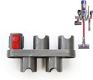 EZ SPARES Docking Station,Wall Mount Bracket,Compatible with DYS V7 V8 V10 V11 Cordless Vacuum Cleaner, Attachment Accessory Storage Holder Organizer,DIY Connector Converter(1pc)