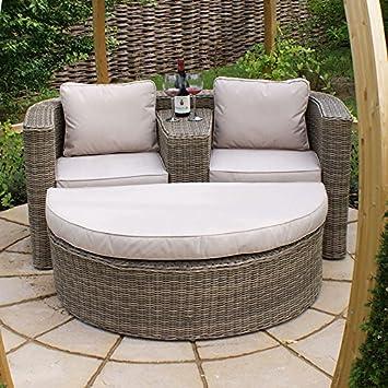 Perfect Maze Rattan All Weather Rattan Winchester Garden Furniture Love Seat