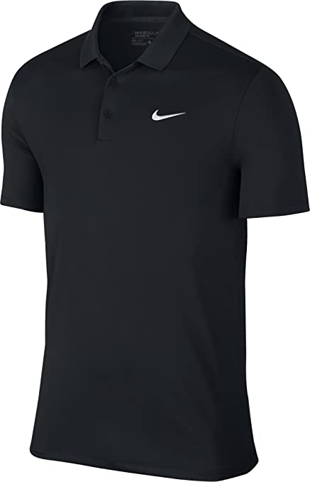 Nike Victory Solid Logo Chest Mens Golf Polo Shirt
