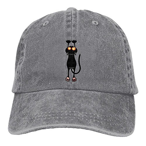 Adult Funny Kitten Sports Adjustable Structured Baseball Cowboy Hat