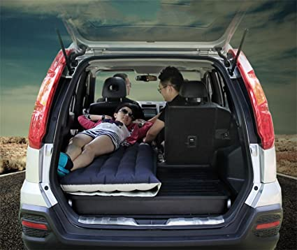 POTA R&R 4/6 Split Car Inflatable Mattress SUV Universal Air Bed Camping Travel Inflatable
