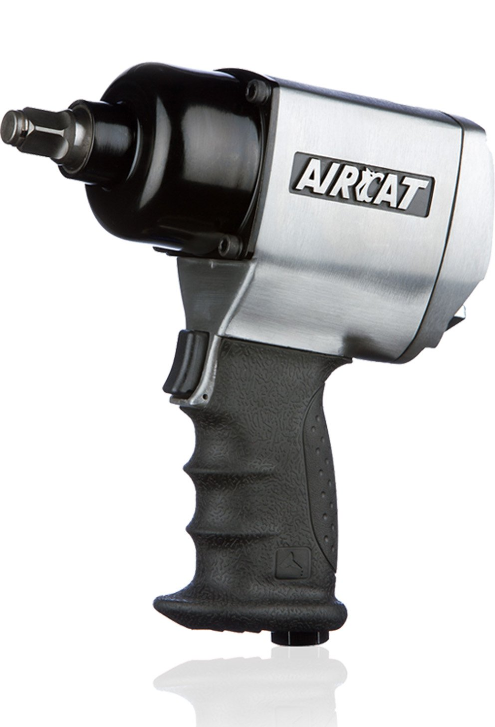 AIRCAT 1404 1 2-Inch Brushed Aluminum Impact Wrench