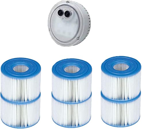 Intex Purespa Type S1 Filter Cartridge Spa Replacement Cartridges 4 Pack
