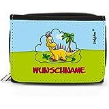 Striefchen® Dino Geldbörse mit Gratis Namensaufdruck mit Geschenkverpackung