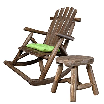 Miraculous Amazon Com Rocking Chairs Wssf Balcony Solid Wood Beatyapartments Chair Design Images Beatyapartmentscom