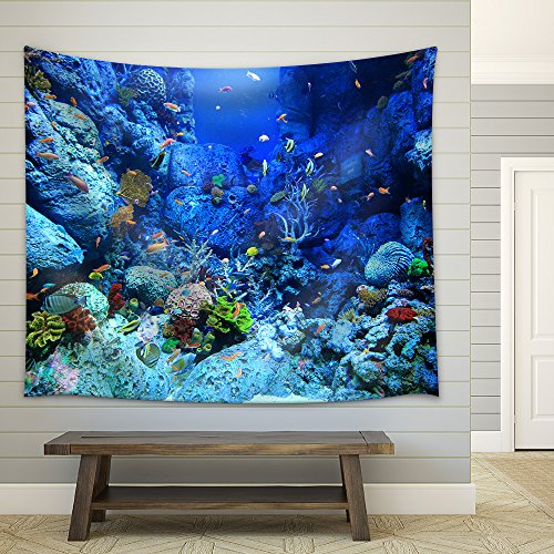 Underwater World Fabric Wall