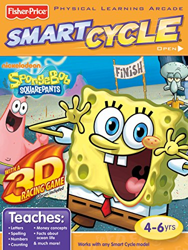 (Fisher-Price Smart Cycle 3D [Old Version] SpongeBob Software Cartridge)