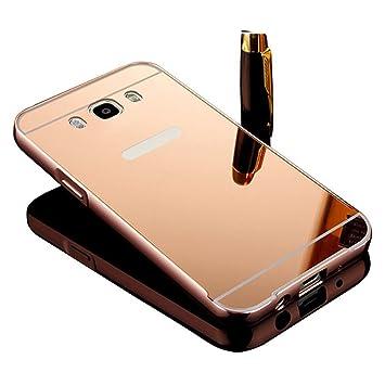 Vandot Duro Híbrido Carcasa para Samsung Galaxy J5 2016 J510 (no para Samsung Galaxy J5 2015 J500) Premium Bumper Case del Metal Aluminio + PC ...