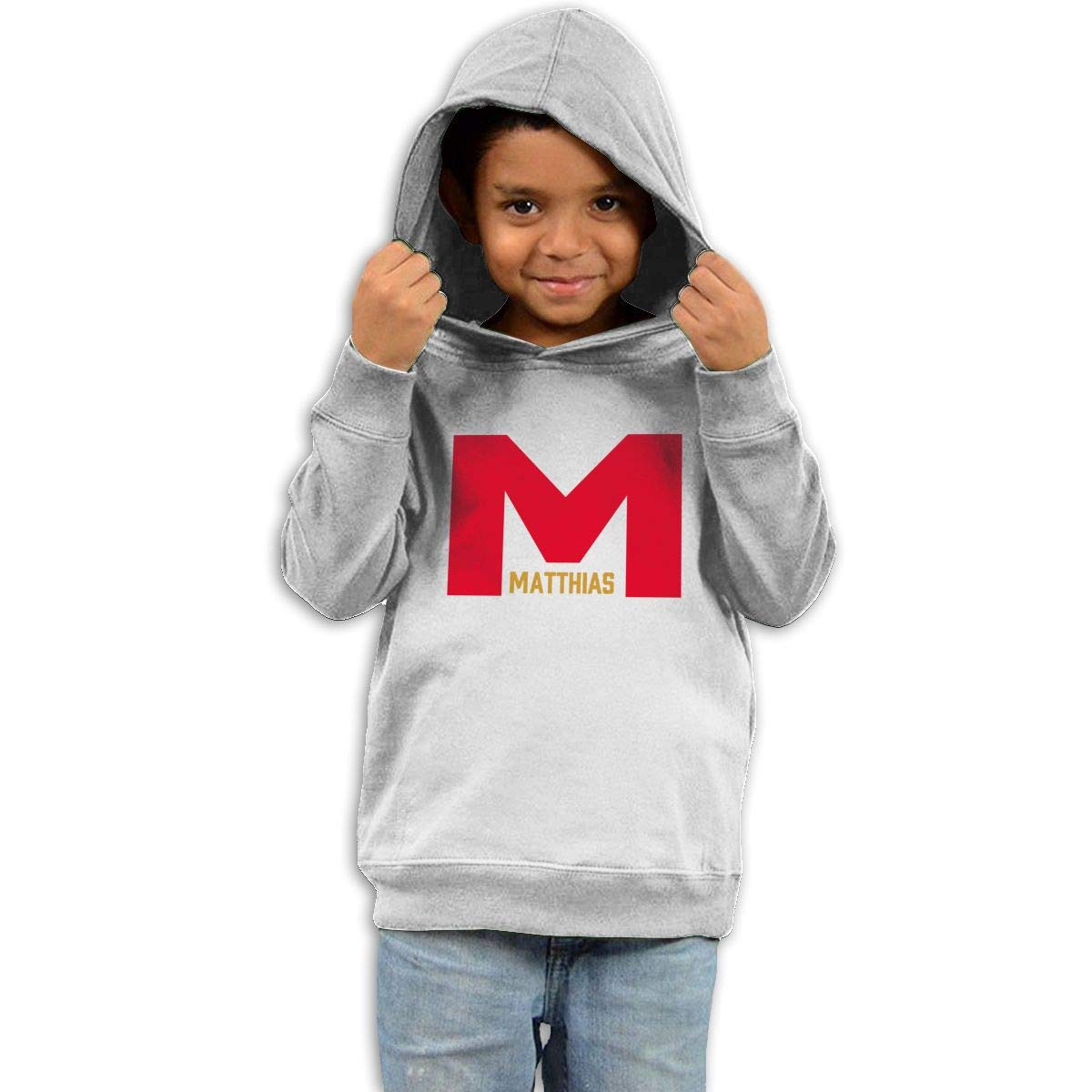 Stacy J. Payne Toddler Matthias Cool Hoody39 White by Stacy J. Payne (Image #1)