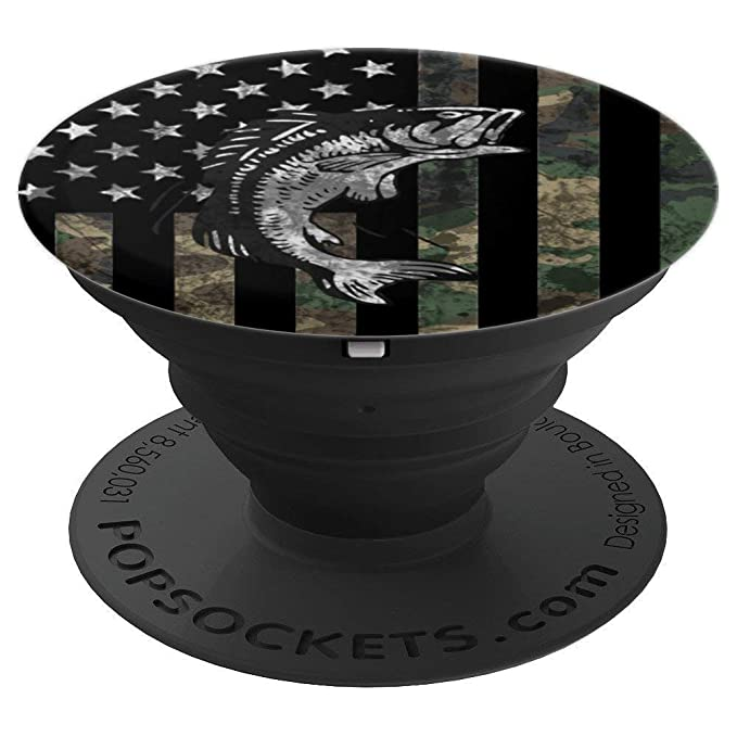 Camo Fishing - Design Series - PopSockets Grip and Stand for Phones and Tablets