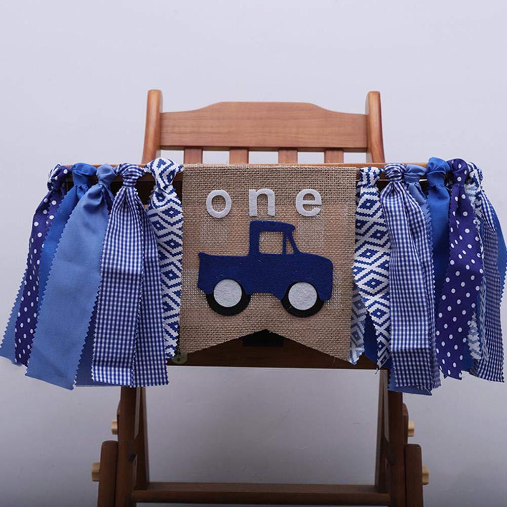 Amazoncom Imshi 1st Birthday Decorations Baby First Burlap