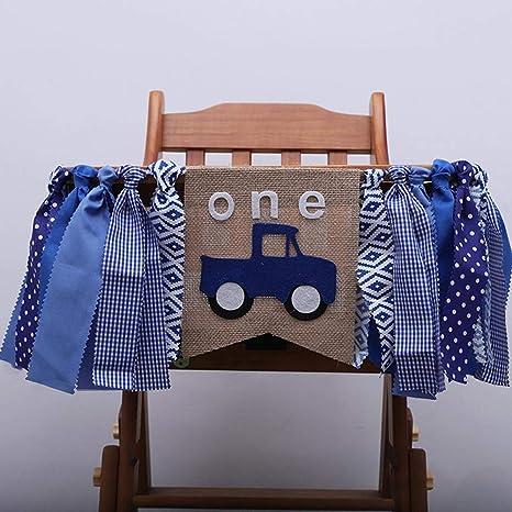 Amazon IMSHI 1st Birthday Decorations Baby First Burlap