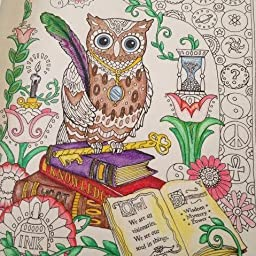 Amazon.com: Circe\'s review of Creative Haven Owls Coloring Book ...