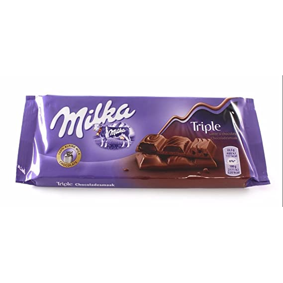 Milka Tableta De Chocolate Triple Caramel: Amazon.es: Alimentación y bebidas