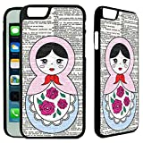 [TeleSkins] - Russian Doll - iPhone 6 / iPhone 6S Plastic Case - Ultra Durable Slim & HARD PLASTIC Protective Slim Snap On Designer Back Case / Cover for Girls. [Fits iPhone 6 & 6S (4.7 inch)]