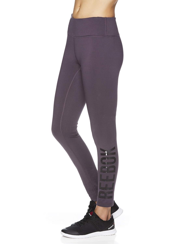 Reebok Womens Fleece Lined Leggings - Cold Weather Workout ...