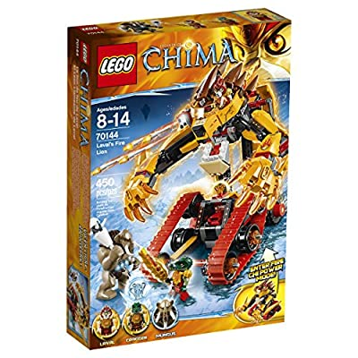 LEGO® Chima, Laval's Fire Lion Building Toy- Item #70144