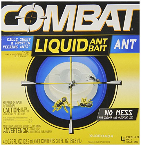 Combat Liquid Ant Bait, 4 Count by 3M