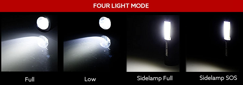 no incluida Pilas Linterna LED Alta Potencia Recargable Linterna de Mano Linternas T/áctica Militar Linternas Antorcha 3000 LM Flashlight LED de 4 Modos para Ciclismo Camping Monta/ñismo