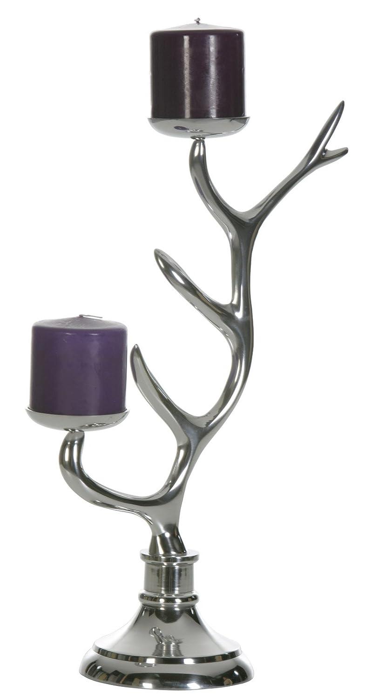Artra Aluminium Kerzenständer - Schmuckständer Tree - Tischdeko, Teelichthalter, Kerzenhalter, Kerzenleuchter und Tischdeko