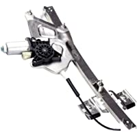 Power Window Regulators Front Left Drivers Side with Motor Assembly Replacement Parts for 2000-2005 Buick LeSabre