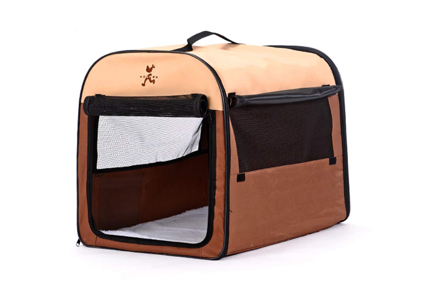 Medium WeRui Portable Soft Fabric Pet Carrier Folding Dog Cat Puppy Travel Bed Cozy Pets Hut House Travel Basket