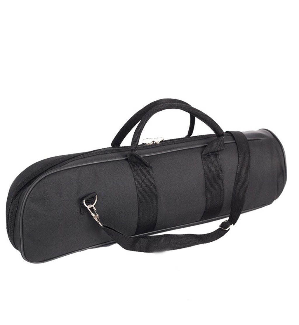 Small Portable Musical Instrument Trumpet B Bag Soft Package Backpack Black