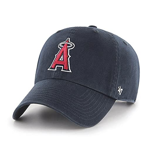 3493438ae38 Amazon.com  MLB Los Angeles Angels Men s Clean Up Cap