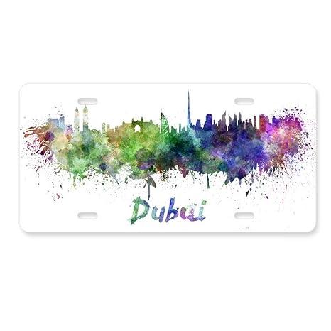 Amazon com: DIYthinker Dubai The United Arab Emirates City License
